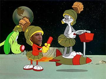 Mad Mikes America: Obama on Mars