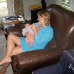 Rachel with Anna 2