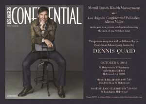 Los Angeles Confidential Invite